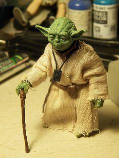 Star Wars E8 Force Fantôme Yoda Black Series