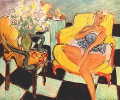 Ballerina in un interno di Henri Matisse 1942