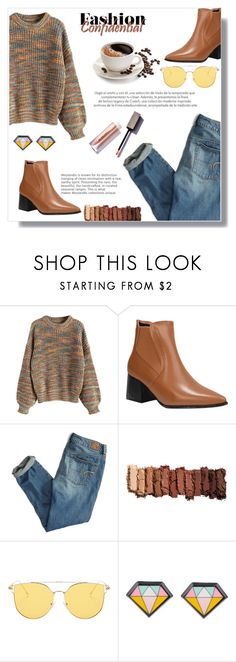 """""""Fantastic baby"""" by fashion-pol ❤ liked on Polyvore featuring American Eagle Outfitters and Urban Decay"""