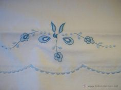 Antigüedades: Hermosas sabanas bordadas a mano - Foto 3 - 40599971