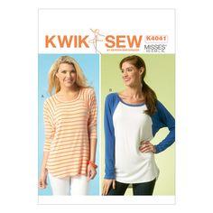 Mccall Pattern K4041 All Sizes -Kwik Sew Pattern