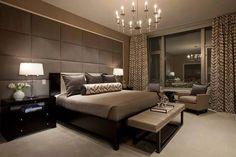 Subdued bedroom