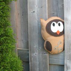 Owl Hand Sewing PATTERN  Make Your Own Felt by LittleHibouShoppe, $4.00