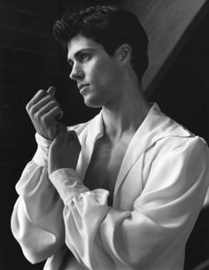 Roberto Bolle. Male ballet dancers aren't wimps; they're HOT.