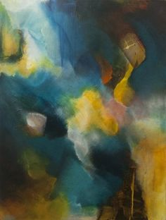 Traveling Through Atmosphere by Chris Foster Acrylic on Canvas 40 in x 30 in