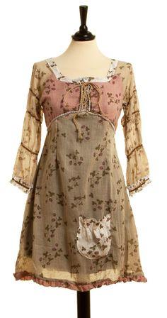 Kleid Zuloaga - Tostado von Ian Mosh, Elle & Belle