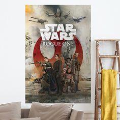 Póster adhesivo Star Wars Rogue One Alliance - VINILOS DECORATIVOS Blues Brothers, Indiana Jones, Pulp Fiction, Ladder Decor, Star Wars, Stars, Home Decor, Death Star, Tv Series