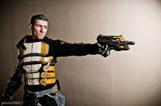 This'll put 'em down! (Zaeed Massani from Mass Effect Cosplay) by WMarmory.deviantart.com on @DeviantArt