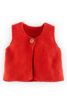 Mini Boden Knit Cotton & Cashmere Blend Vest (Baby Girls) | Nordstrom