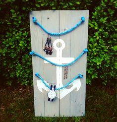 #anchor #hangerjewely #handmade #pallets