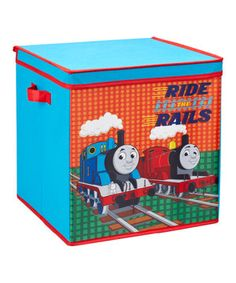 Look what I found on #zulily! Large Thomas The Tank Engine Storage Box by Thomas & Friends #zulilyfinds