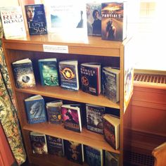 We have a new display up in our YA Books! Discover a new favorite series and grab the first book now!