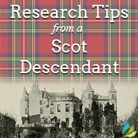 If you have Scottish ancestry, primary records are available on the site ScotlandsPeople. One of our genealogists shares how to find the info you need!