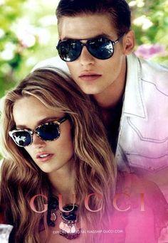Las imágenes de Gucci, para la próxima primavera-verano 2013, con la bellísima Karmen Pedaru