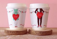 Coffee lovers- would love these on teacups