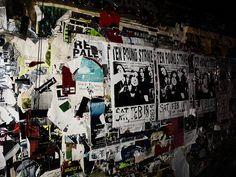 CBGB's Wall by Rob Boudon
