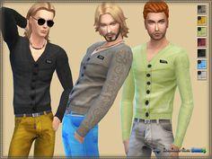 Cardigan & V-neck http://bukovkaforsims.blogspot.com.es/2016/04/cardigan-v-neck.html
