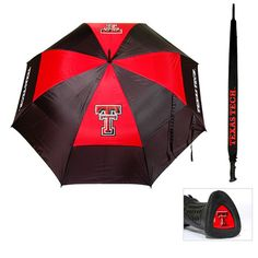 Texas Tech Red Raiders 62 inch Double Canopy Umbrella #TexasTechRedRaiders