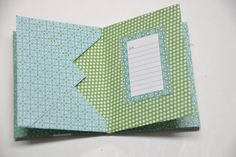 Six envelopes and 20 minutes of your time and you can make this great envelope scrapbook as a gift and/or to use as a brag book! Full tutorial here. Mini Envelope Album, Envelope Scrapbook, Envelope Book, Scrapbook Cover, Diy Envelope, Mini Scrapbook Albums, Baby Scrapbook, Scrapbook Paper Crafts, Scrapbook Cards