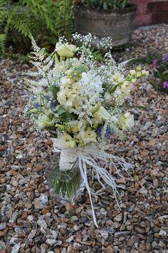 Beautiful bridal bouquet.