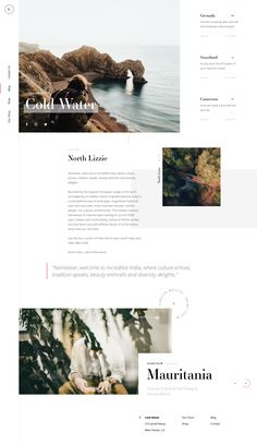 Cold Water Blog by Tom Rich | dribbble