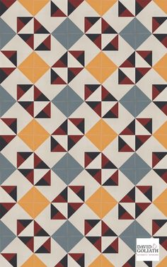 Cement tiles with art-deco designs from between the 2 World Wars. Pattern Art, Pattern Paper, Pattern Design, Weaving Patterns, Textile Patterns, Graphic Patterns, Print Patterns, Textiles Sketchbook, Stenciled Floor