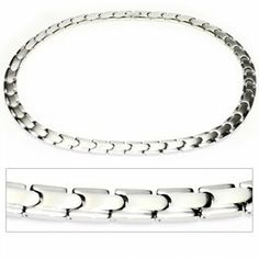 """Men's Tempo Titanium Magnetic Power Golf Link Necklace 22"""" Accents Kingdom. $109.99. Enclosure: Fold-Over Safety Clasp. Material: Premium CP2 Grade Titanium. Finish: Matte and Polished Links. Surface Gauss: Approx 2000 Gauss(Each Magnet). Save 59% Off!"""