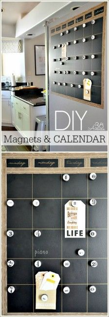 Calendar-Tutorial-at-the36thavenue.com_ I Heart Nap Time | I Heart Nap Time - Easy recipes, DIY crafts, Homemaking