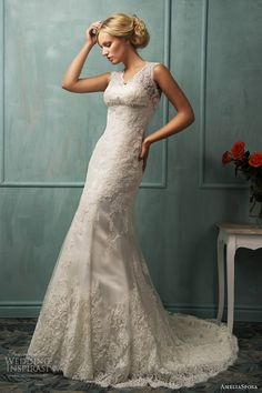 This is a nice gown for the reception:: amelia sposa bridal 2014 loretta wedding dress