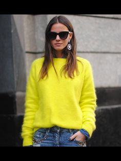 ... this Yellow Sweater.