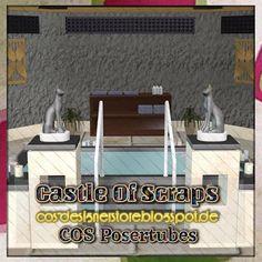 Castle Of Scraps: Background Exotic Bathroom