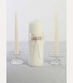 Unity Candle set  David's Bridal DB83PC *DIY