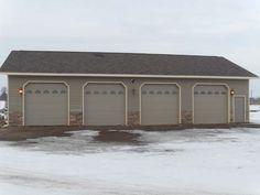 1000 ideas about pole barn garage on pinterest barn for Stick built garage plans