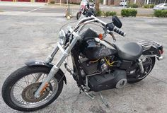 Used 2006 Harley-Davidson DYNA STREET BOB Motorcycles For Sale in Florida,FL. 5600 MILES. BLACK WITH CUSTOM PAINT.