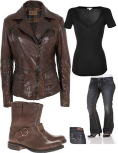 """""""Female Dean Winchester"""" by zzmiller87 on Polyvore"""