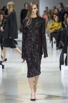 Défilé Nina Ricci automne-hiver 2015-2016, robe paillettes