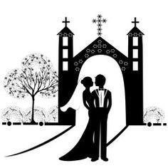 wedding silhouette 9
