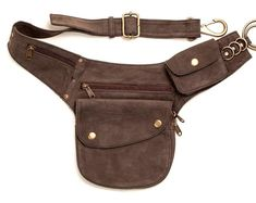 fd8deb4ba6 Hip Pack Leather Utility Belt - Bomber Brown (Largest pockets of most any  belt on the market