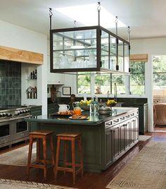 Kitchen Storage Ideas | Helpful Hanging Cookware Storage Ideas For Your  Kitchen | Home Staging .