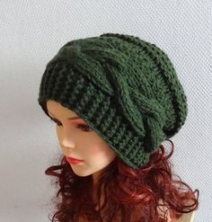 Slouchy Women Knit Hat Beanie Women fashion Winter Hat slouchy