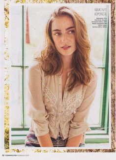 Odd Molly hippie shirt in Cosmopolitan Finland, June 2013