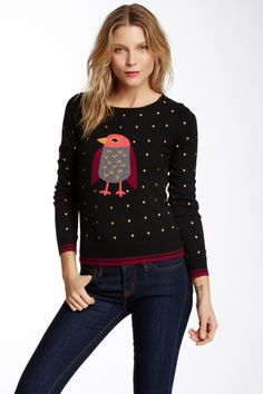 Dotty Sweater by Yumi London on @HauteLook