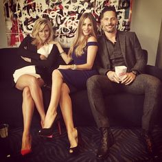 Back stage @joemanganiello @reesewitherspoon