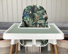 Jungle Paradise | Ikea Antilop High Chair Cushion Cover
