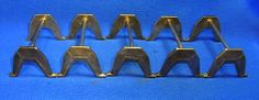 Lot of 5 Vintage German Metal Knife Rests Signed #N