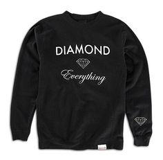 Men's Diamond Supply Co Diamond Everything Crew Sweatshirt