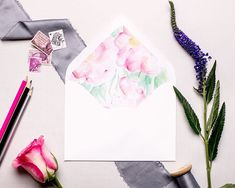 How perfect are our floral envelope liners for spring? Tell us - what flower would you love to see incorporated in your stationery suite? Wedding Invitation Envelopes, Watercolor Wedding Invitations, Pink Peonies, Peony, Envelope Liners, Best Day Ever, Something Blue, Bridesmaid Gifts, Wedding Accessories