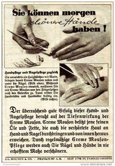 Original-Werbung / Anzeige 1938 - CREME MOUSON - ca. 90 x 135 mm