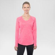 Women's Long Sleeved Space Dye Tee - RBX : Target