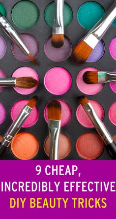 Save time and money with these DIY tricks for making your makeup